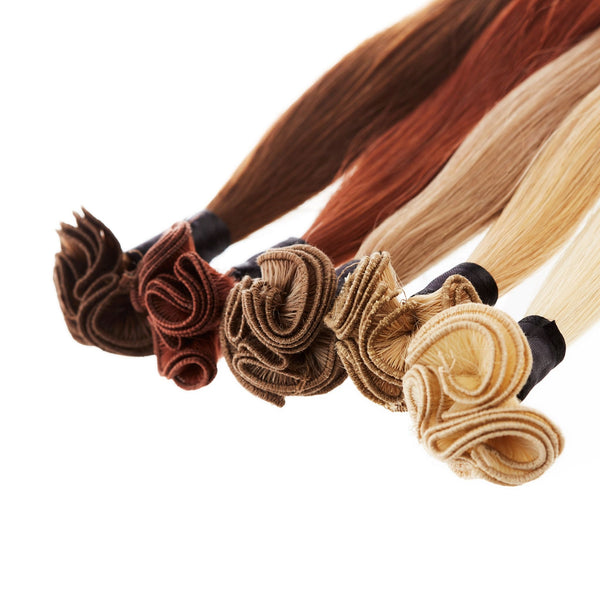 Hand-Tied Wefts