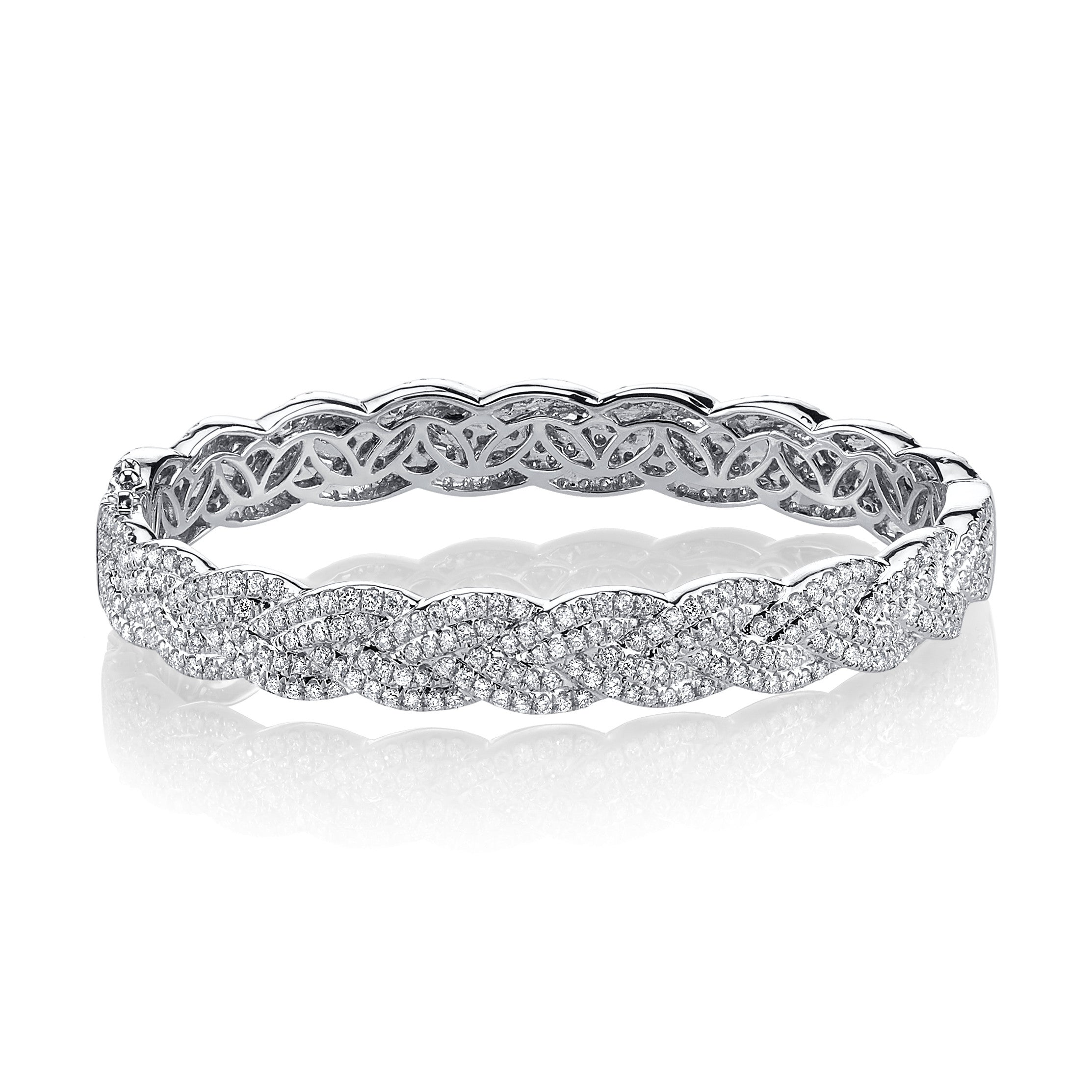 bangles bobby schandra pave by diamonds cuff silver page diamond bangle chandi collections bracelets with cz