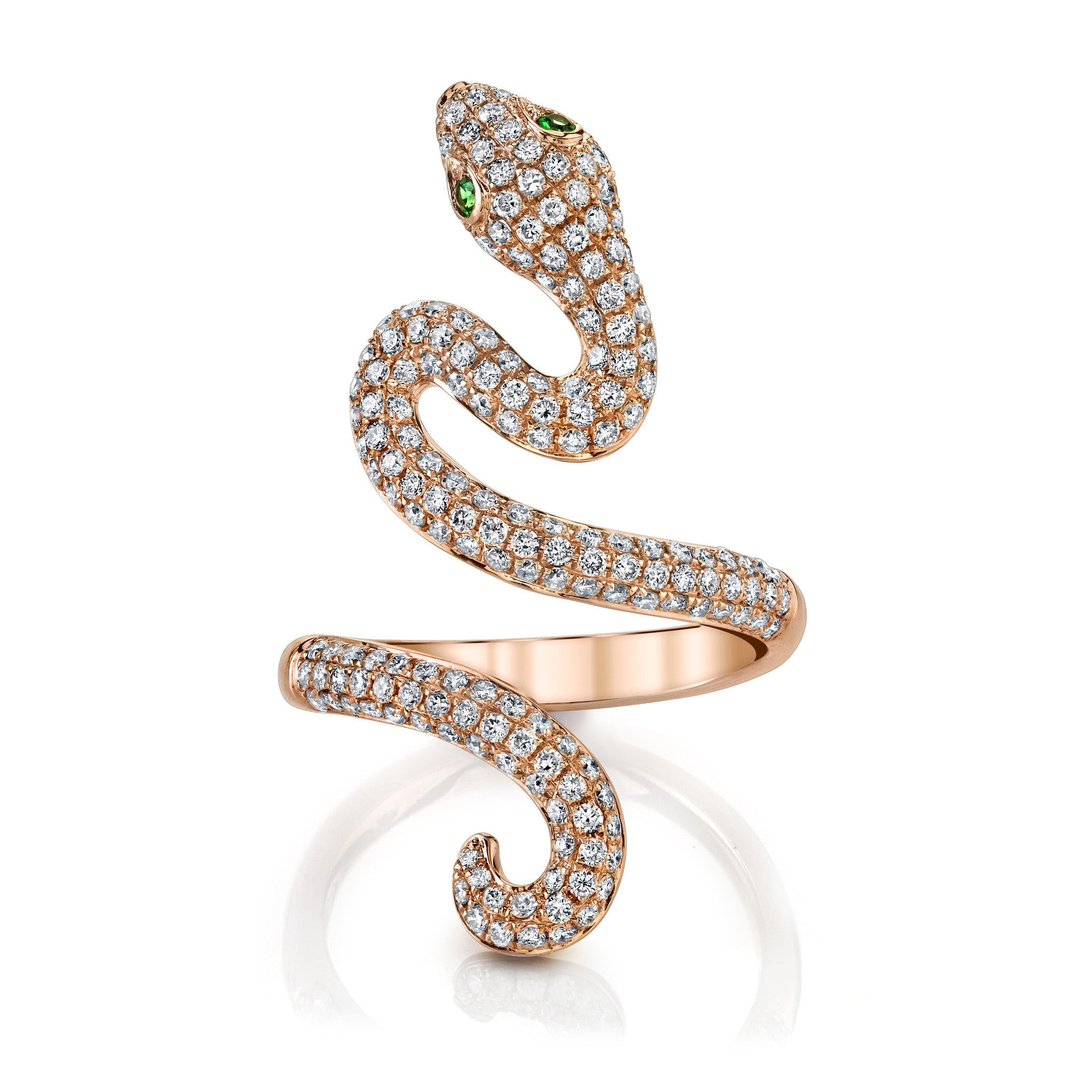single jewelry collections ring rings loop mizana products serpent