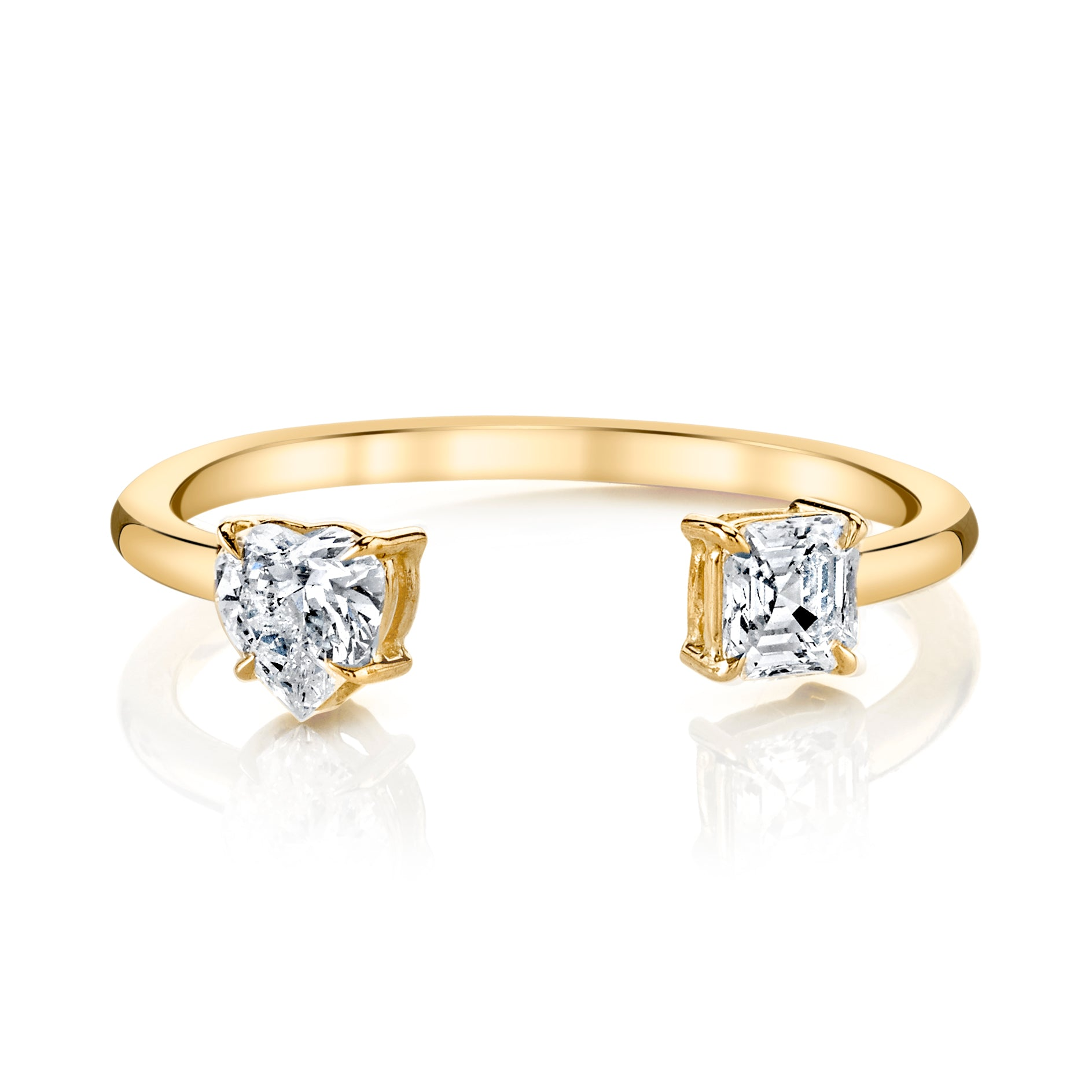 general rings ring information with baguette asscher engagement diamond the round and cut about