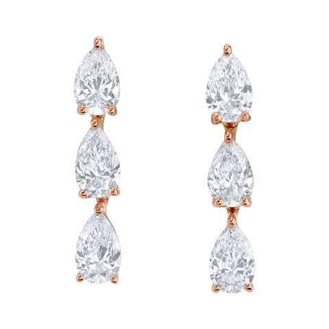 1f8eed4c125 3 pear diamond dot studs