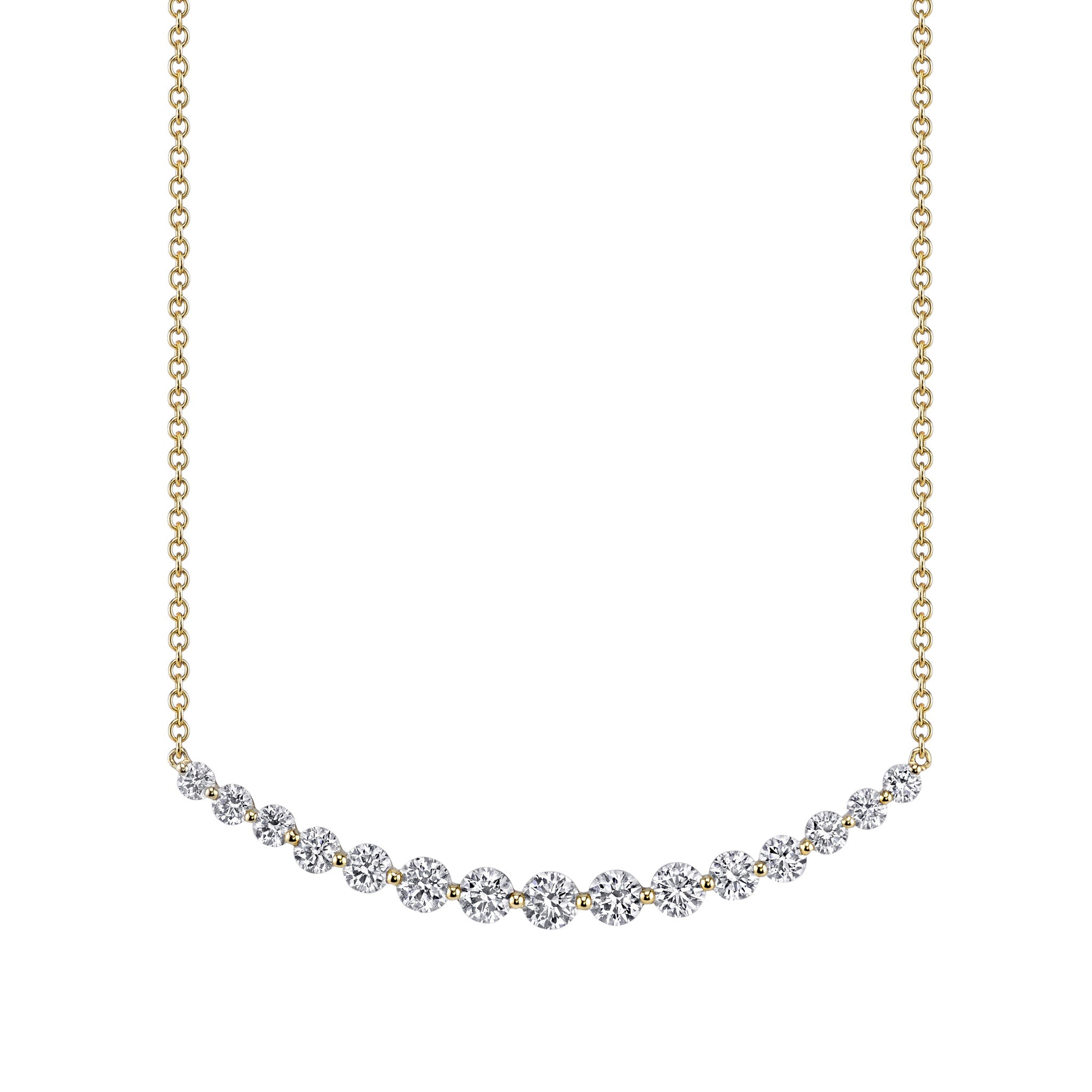 ece0236f6f1 CRESCENT DIAMOND NECKLACE