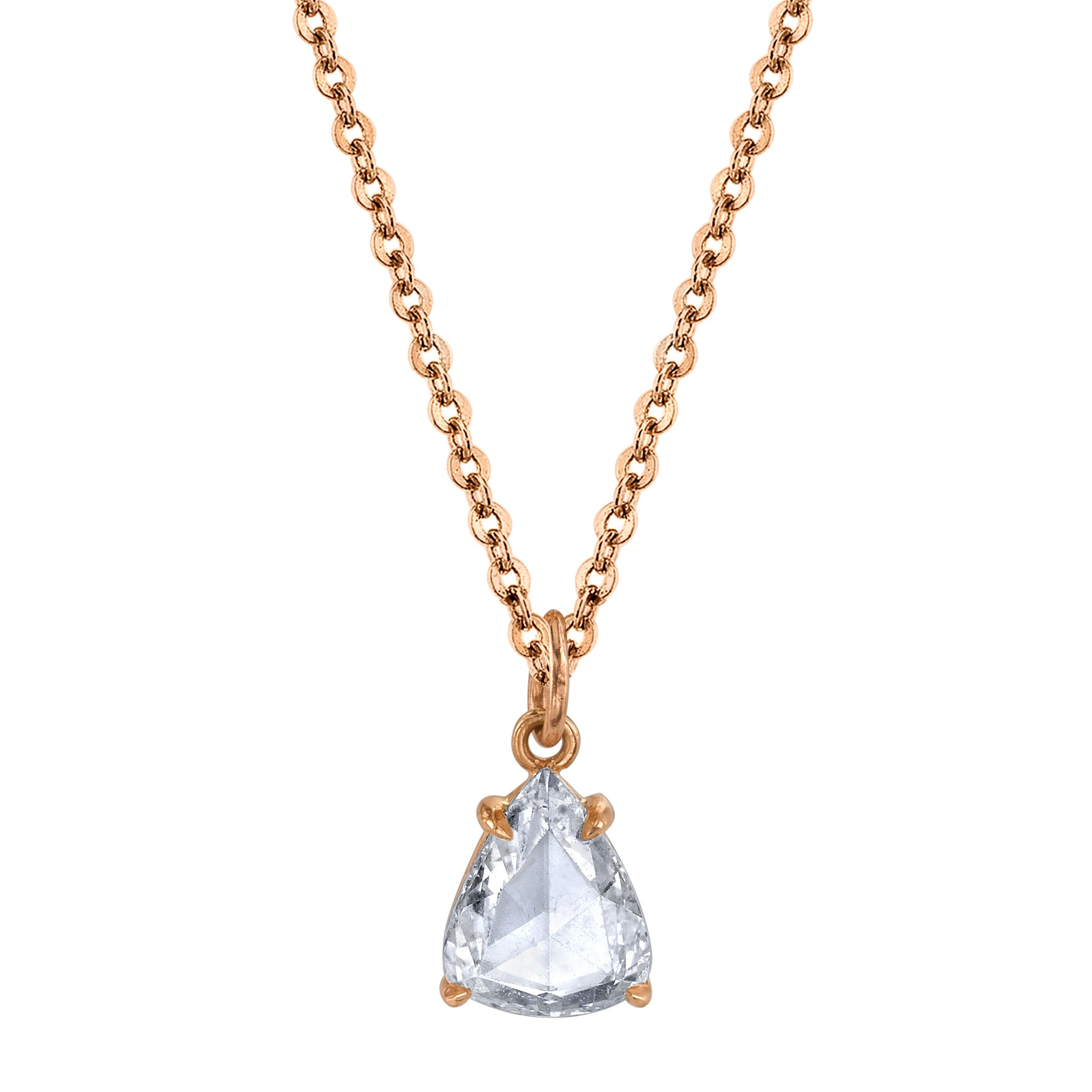 about chain pendant dancing necklace diamond drop tear gold a pear itm shape y details ct shaped
