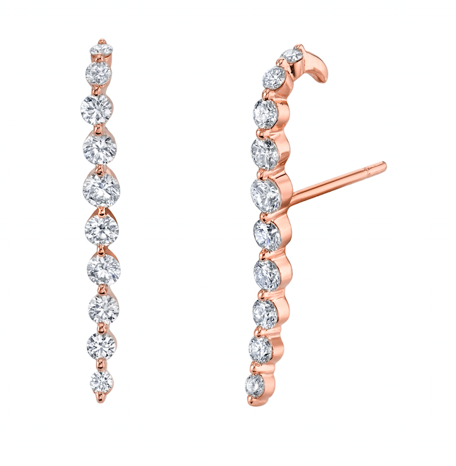 earrings drop gold aquamarine cascade diamonds varian opal shop michele and products