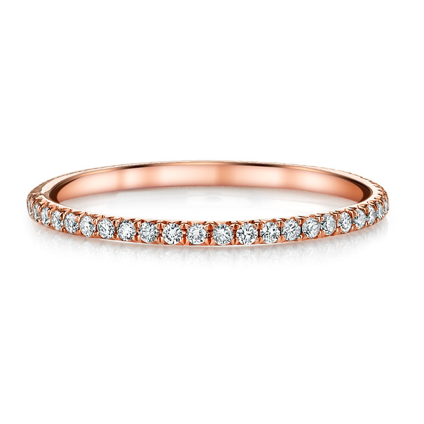 rose gold diamond eternity band anita ko. Black Bedroom Furniture Sets. Home Design Ideas