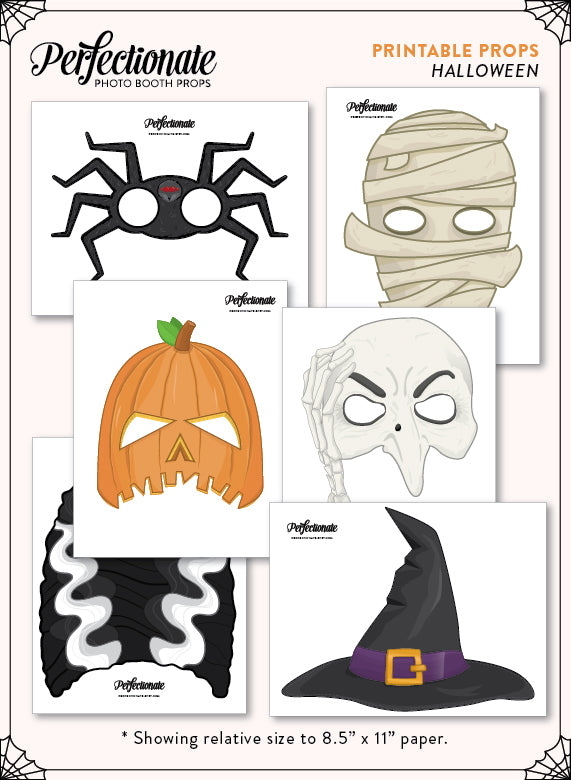 graphic relating to Halloween Photo Booth Props Printable named Halloween Printable Props