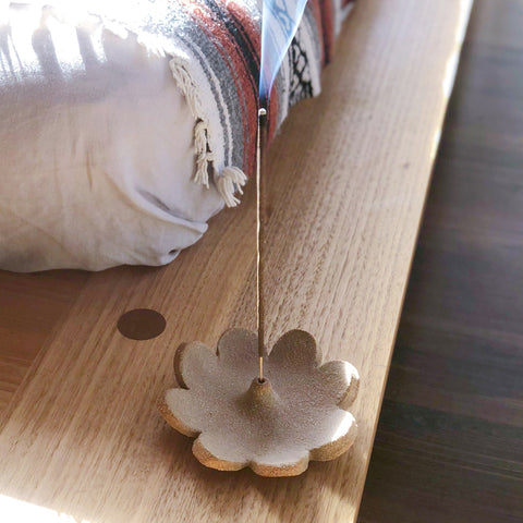 Petal Incense Holder by Amy Leeworthy