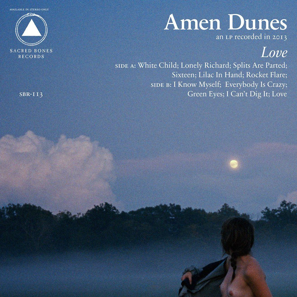 Amen Dunes – Love (Transparent Blue Vinyl)