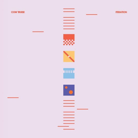 Com Truise – Iteration  (Blue/White Vinyl)