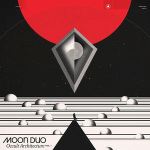 Moon Duo – Occult Architecture Vol. 1 (Red and Black Marble Vinyl)