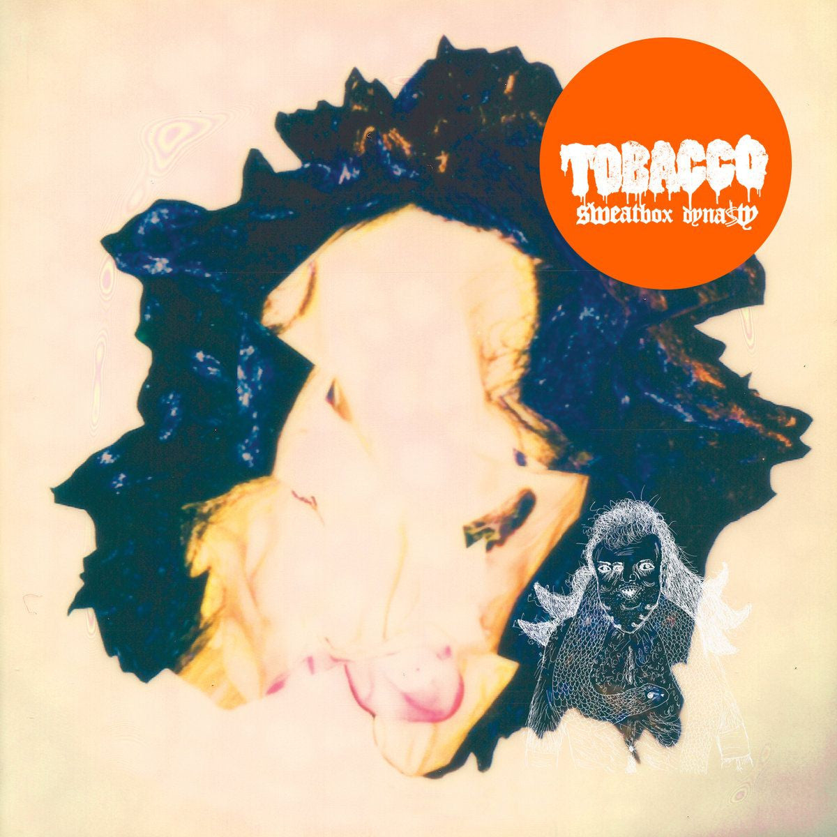 Tobacco – Sweatbox Dynasty  (Transparent Blue/Beige Vinyl)