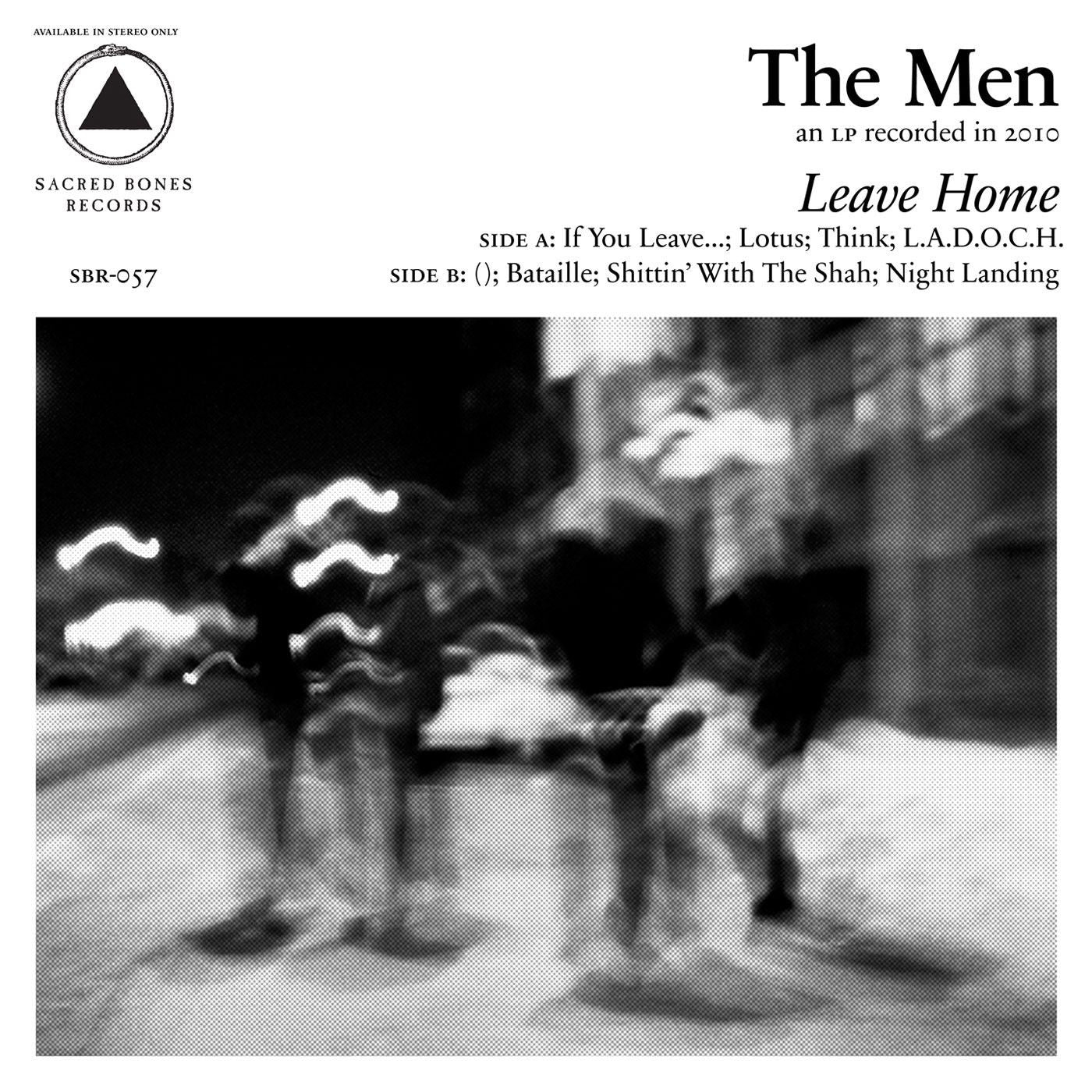 The Men – Leave Home (Clear Vinyl)