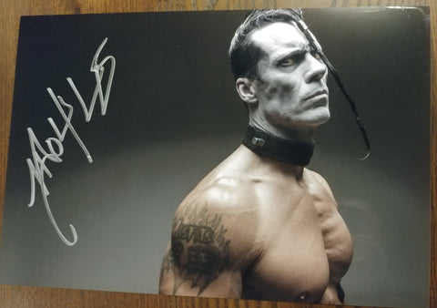 Doyle - Strength signed 8x12 (damaged)