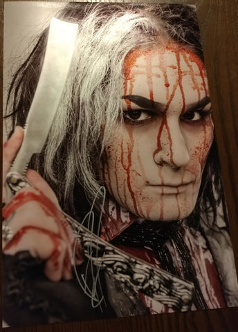 Ghost - Sweeny Todd The Closest Shave signed 8x12 (damaged)