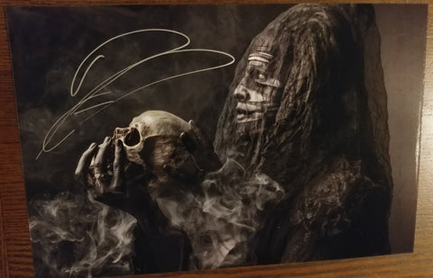 Ghost - The Curse signed 8x12 (damaged)