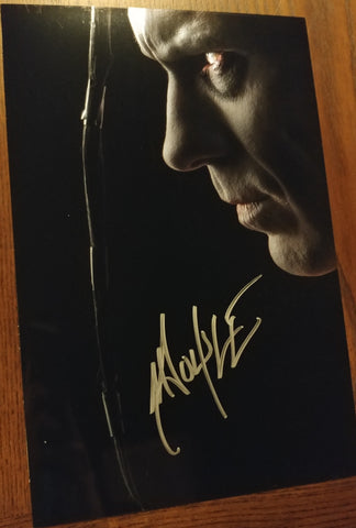 Doyle - Profile signed 8x12 (damaged)