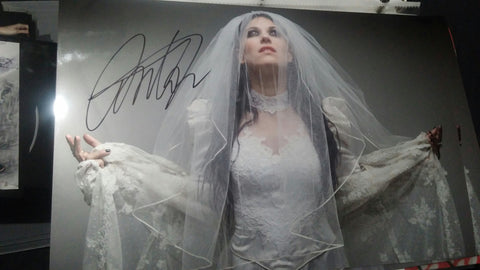 Cristina Scabbia - Wedding Dress - Signed Limited Edition Metallic Print