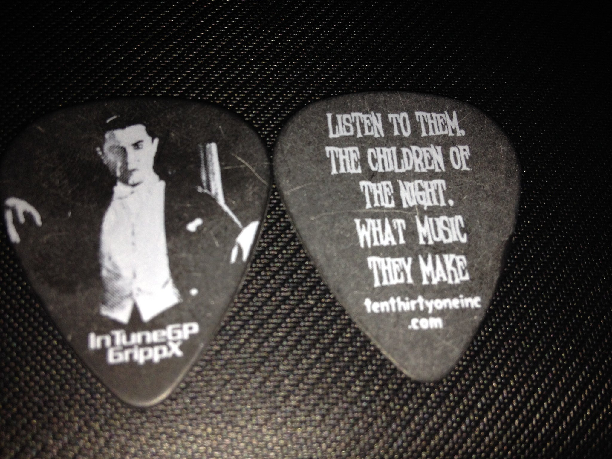 Children Of The Night Guitar Pick