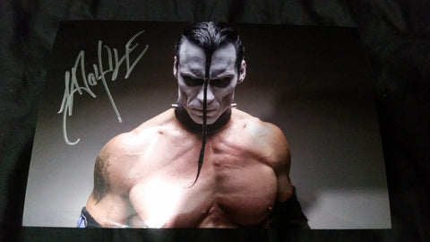 Doyle Wolfgang Von Frankenstein - Evil - Signed limited edition metallic 8x12