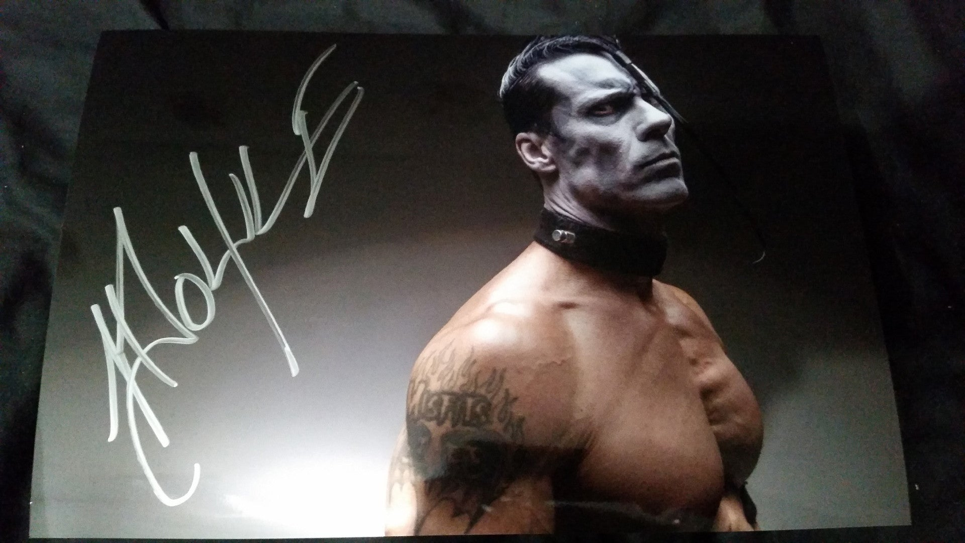 Doyle Wolfgang Von Frankenstein - Strength - Signed limited edition metallic 8x12