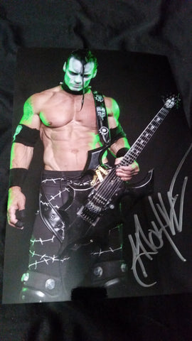Doyle Wolfgang Von Frankenstein - Green Abominator - Signed limited edition metallic 8x12