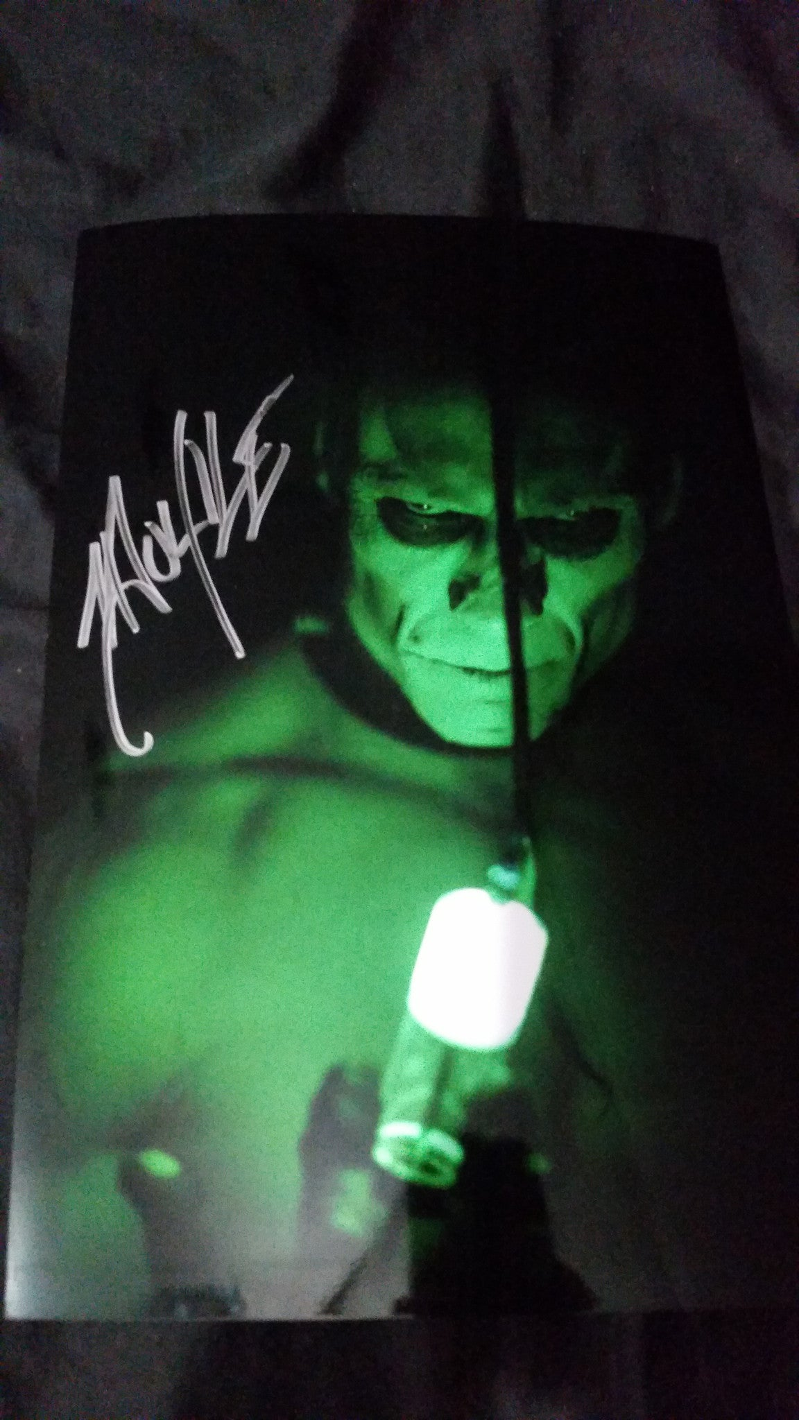 Doyle Wolfgang Von Frankenstein - Injection - Signed limited edition metallic 8x12