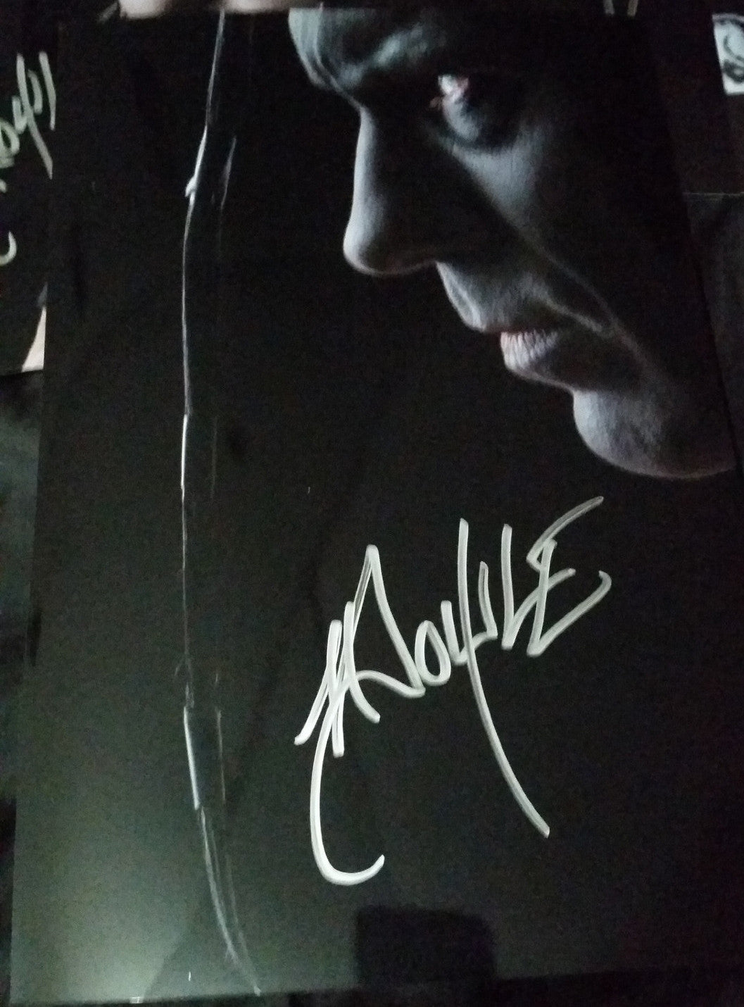 Doyle Wolfgang Von Frankenstein - Profile - Signed limited edition metallic 8x12