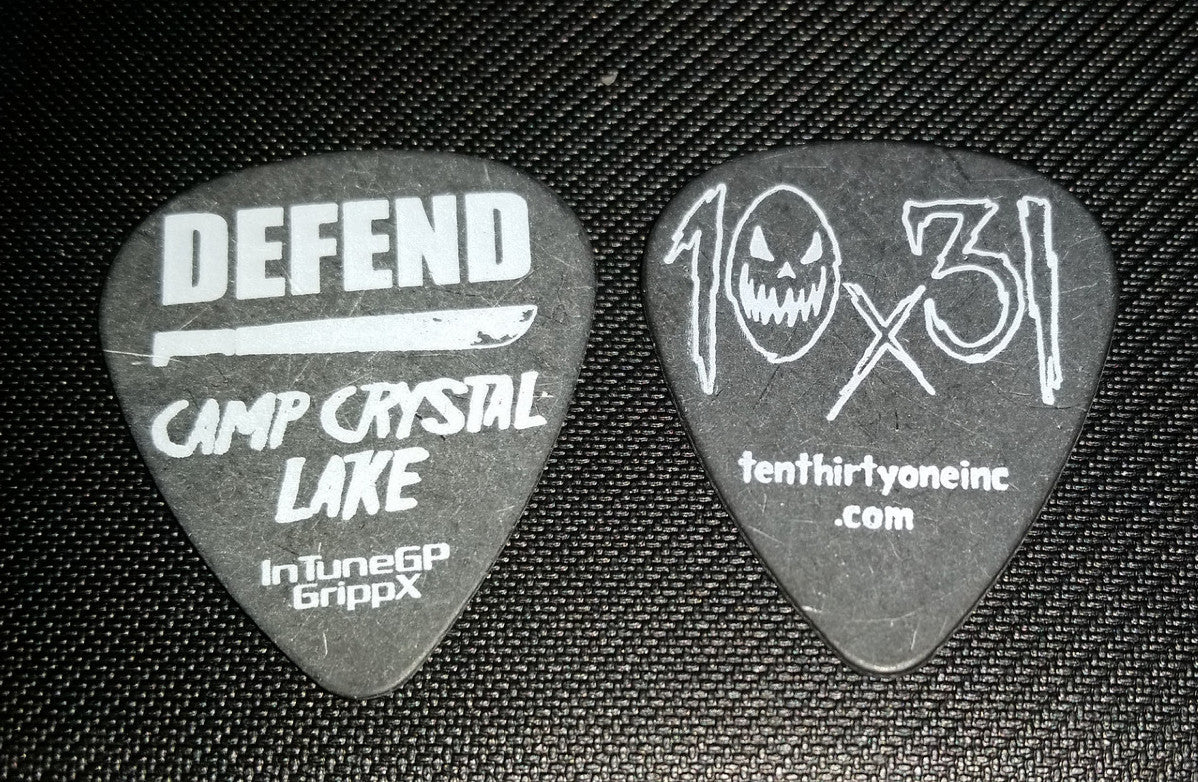 Defend Camp Crystal Lake Guitar Pick