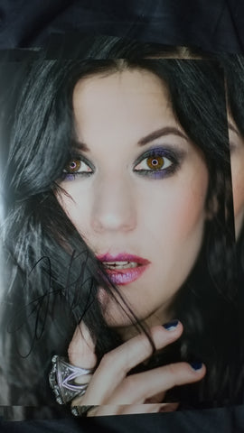 Cristina Scabbia - Ringlight - Signed Limited Edition Metallic Print