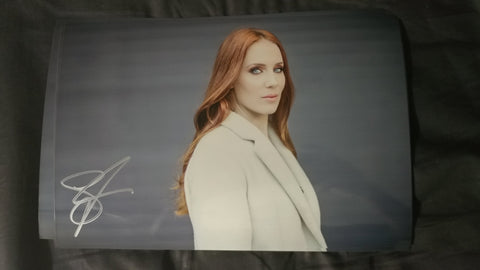 Simone Simons - 1.2 - Signed Limited Edition Metallic Print