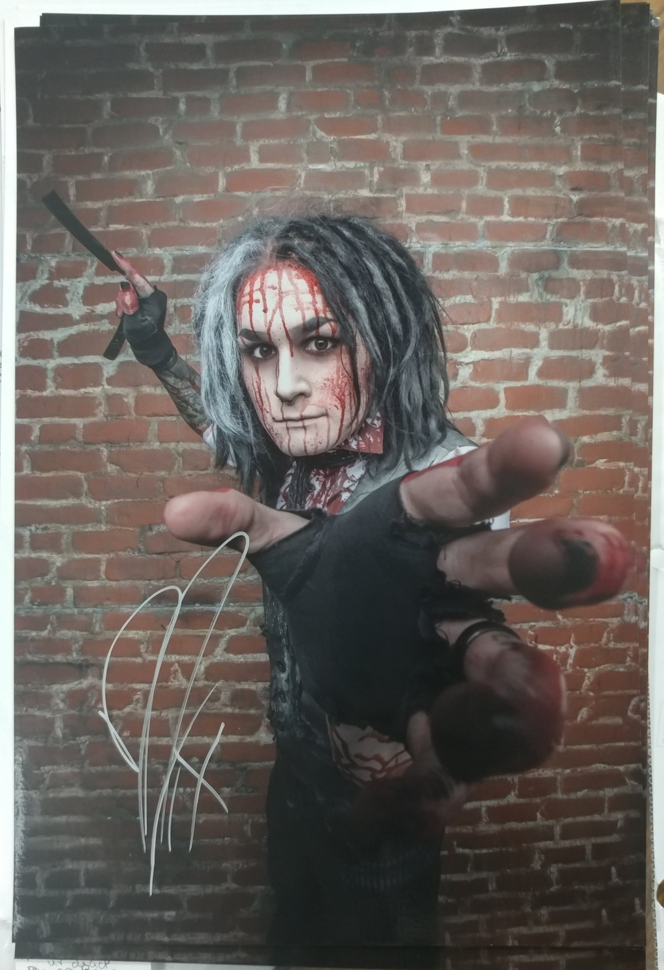 Ghost - Sweeny Todd Grab - signed metallic print (only 5 available)
