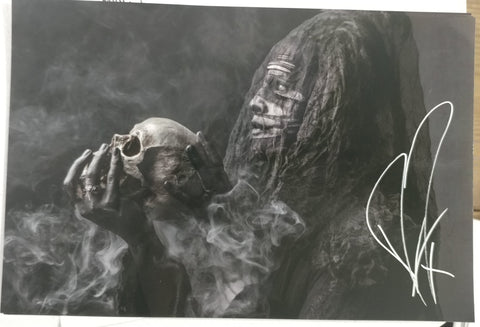 Ghost - The Curse - limited edition signed metallic print