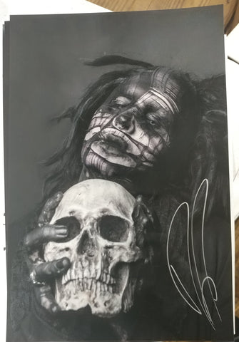 Ghost - The Love of Death - signed limited edition metallic print