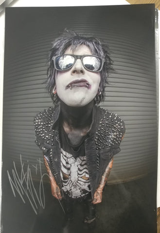 Nikki Misery - Fisheye - SIGNED Limited Edition 8x12 Metallic RNS EXCLUSIVE