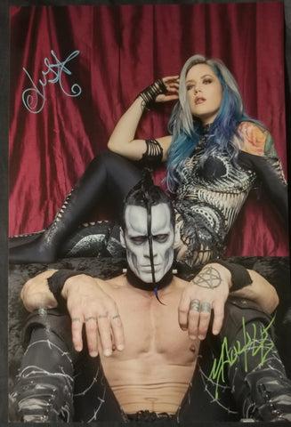 Alissa and Doyle - Beast Throne - Signed Limited Edition Metallic Print (3 LEFT!)
