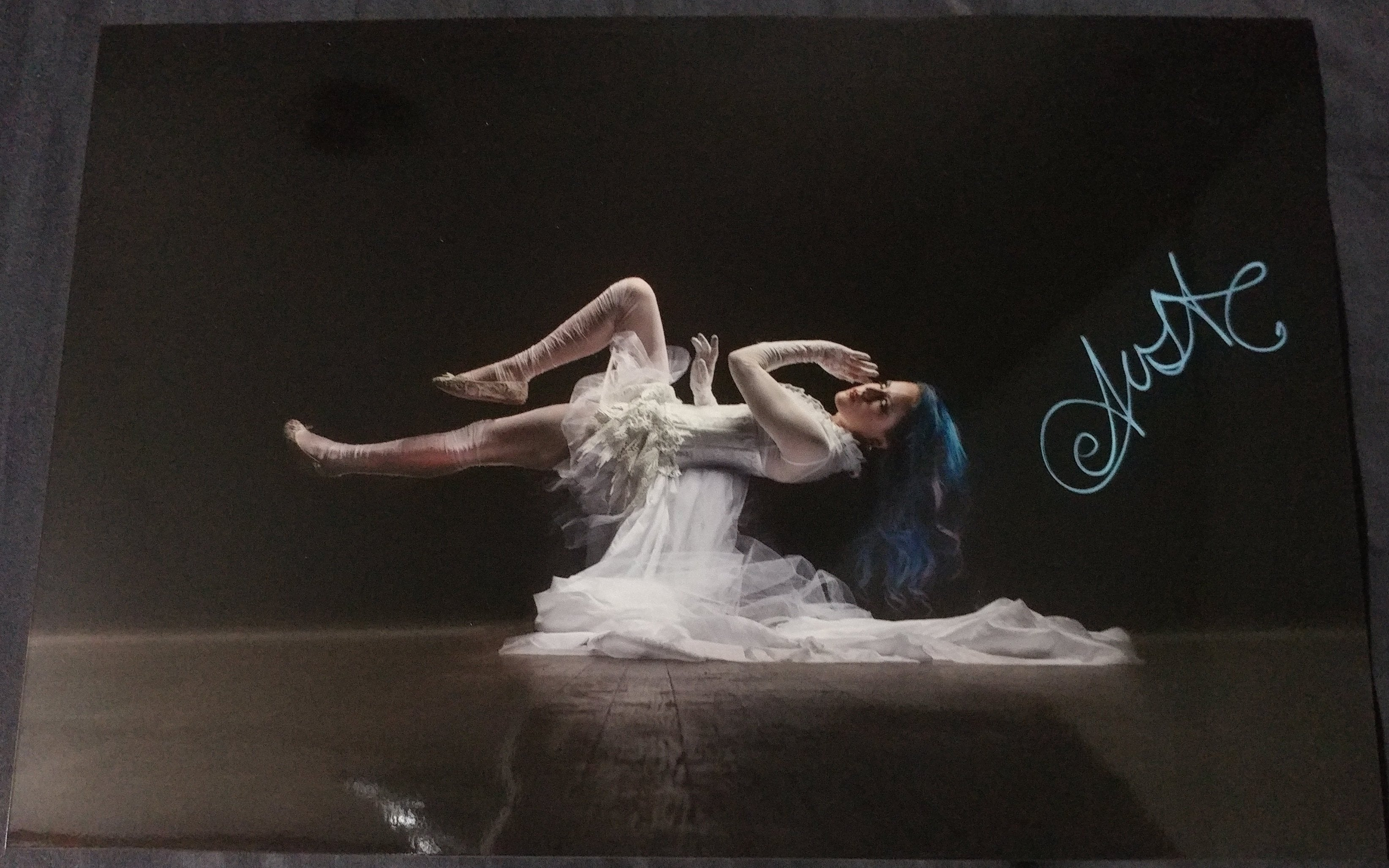 Alissa White-Gluz - Ethereal - Signed Limited Edition Metallic Print