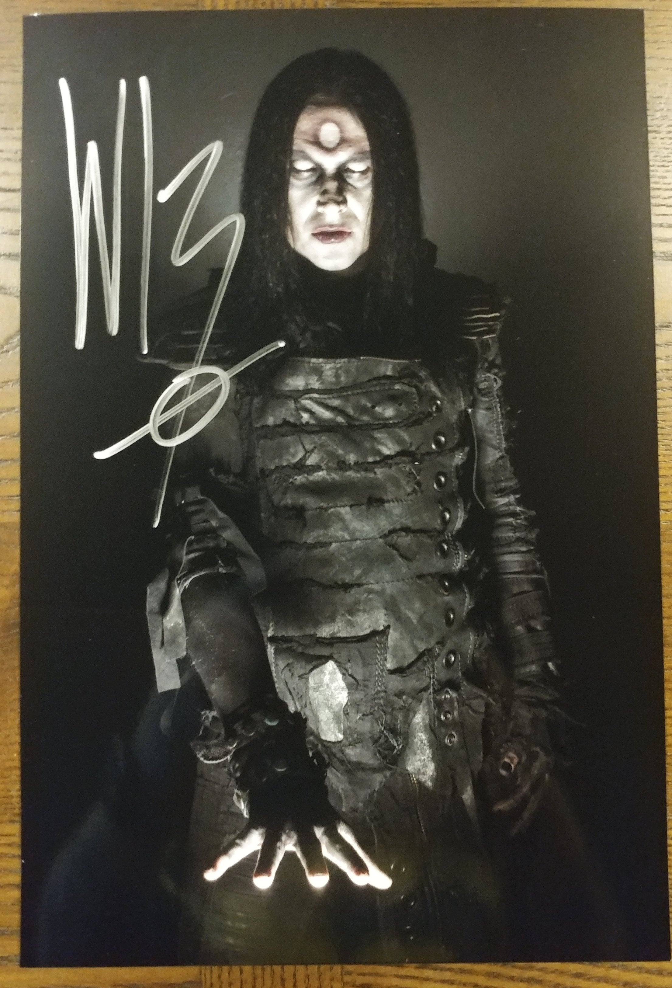 Wednesday 13 - Omen - signed limited edition 8x12 metallic print (LAST ONE!)