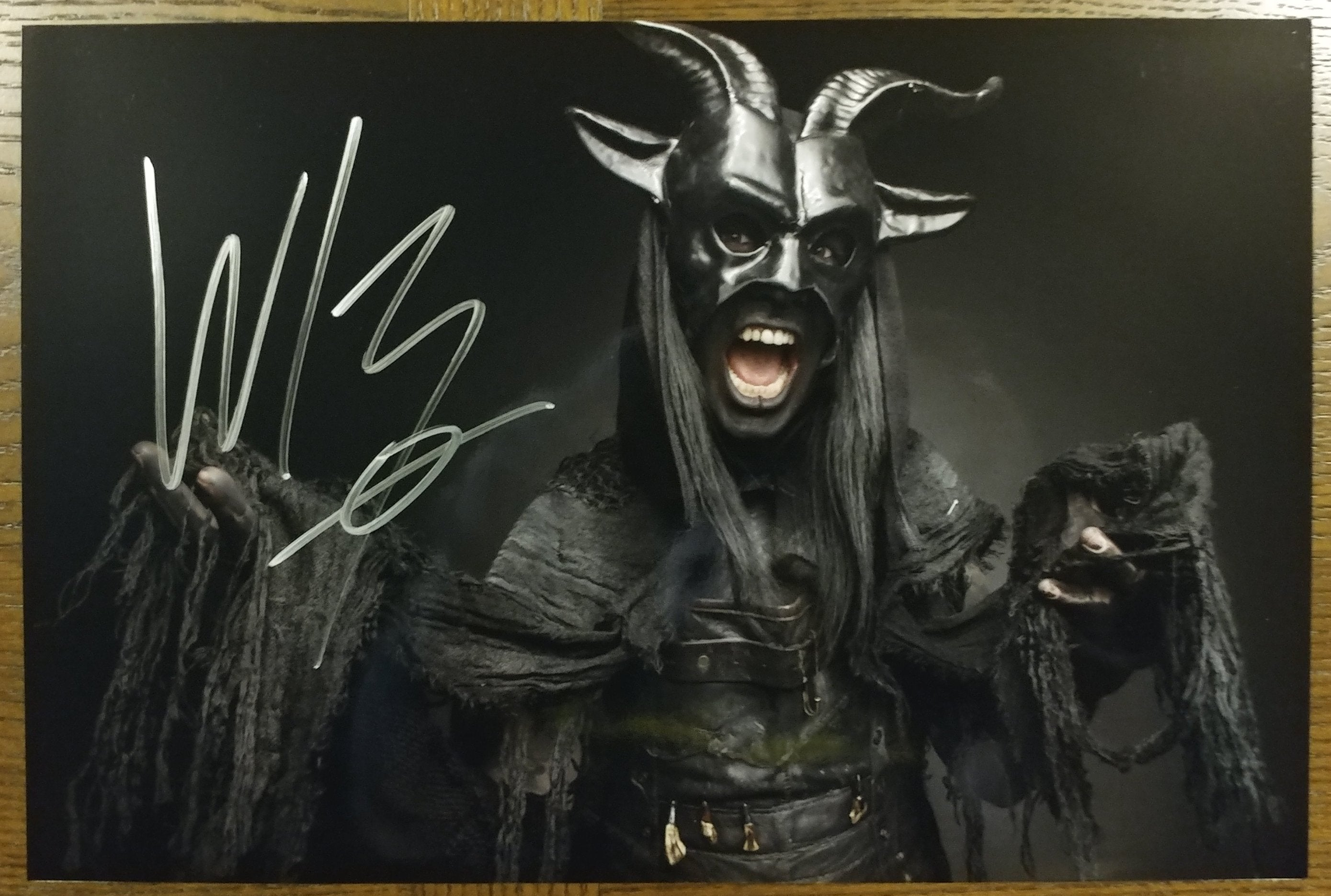 Wednesday 13 - Baphomet - signed limited edition 8x12 metallic print (2 LEFT!)