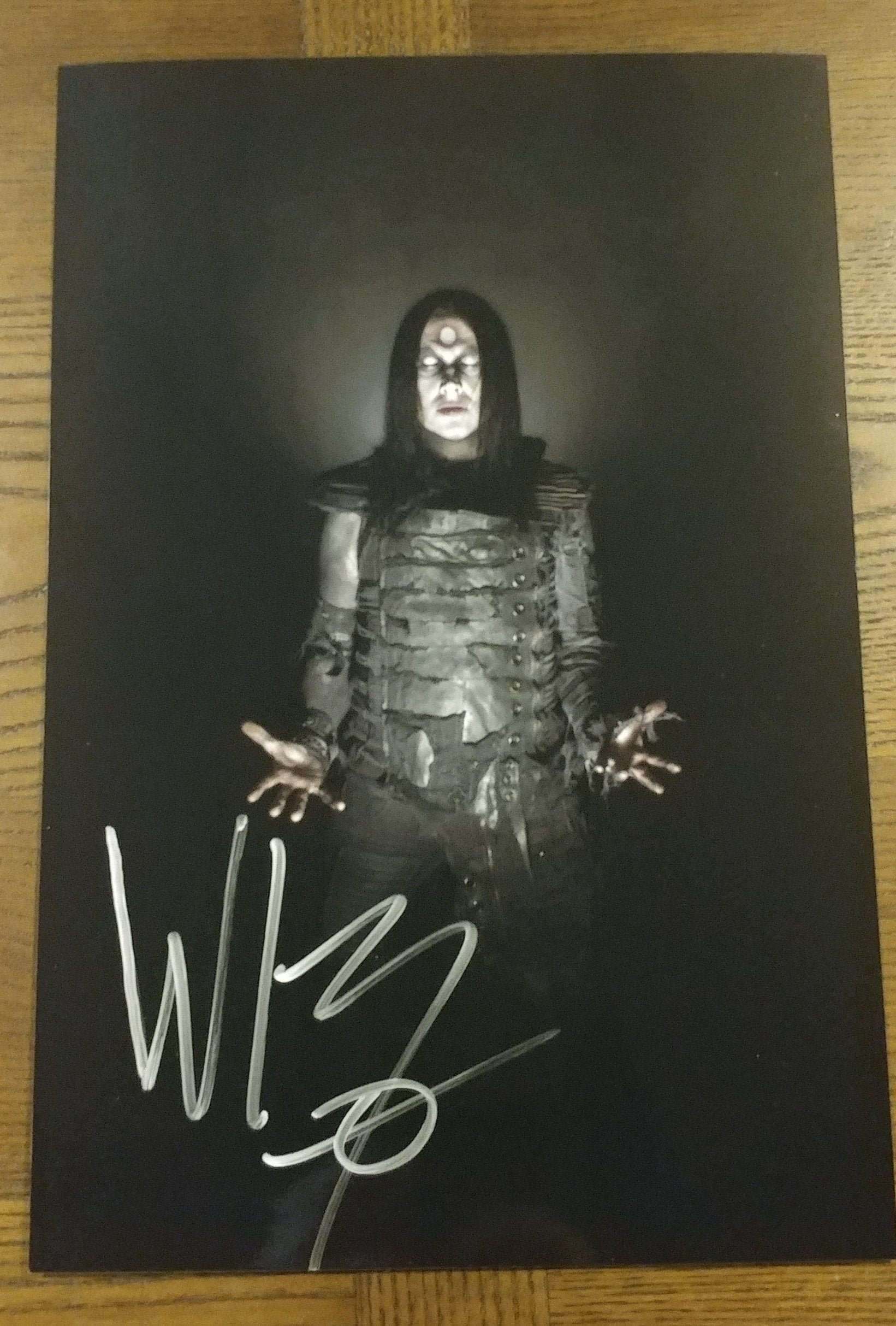 Wednesday 13 - Death Infinity - signed limited edition 8x12 metallic print (4 available)