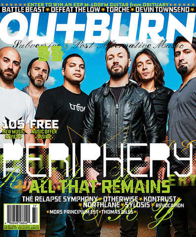 Outburn 77 - Periphery / Chris Motionless / Cristina Scabbia - Autographed by Jeremy
