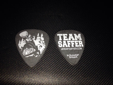 Team Saffer Guitar Pick