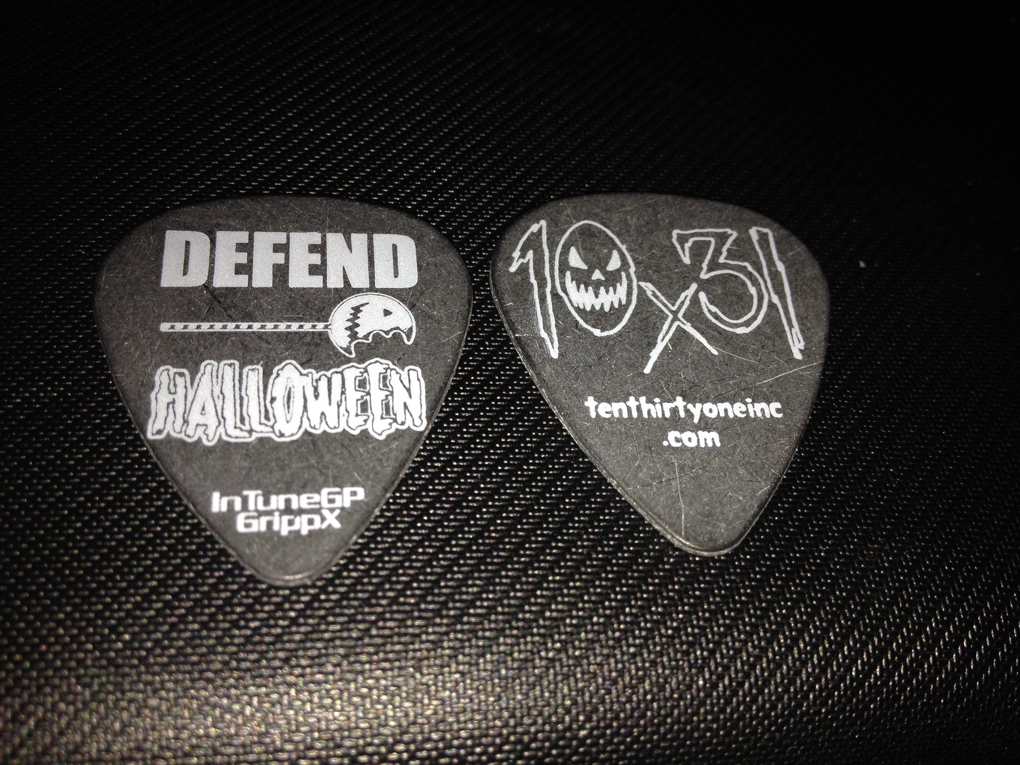 Defend Halloween Guitar Pick