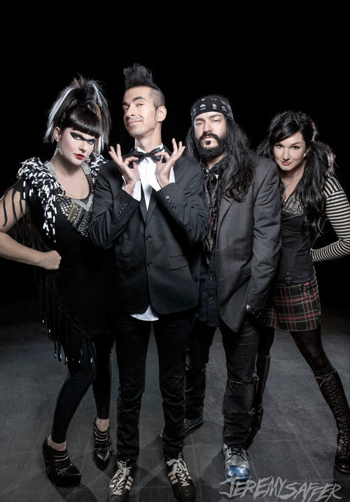 Mindless Self Indulgence - 2012 - Metallic Mini-Print