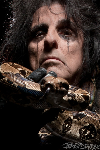 Alice Cooper - Icon - Metallic Mini-Print