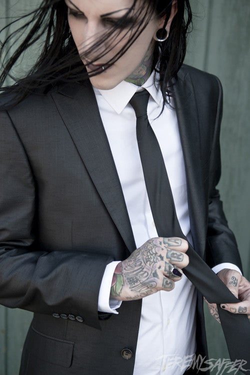 Chris Motionless - Suit - Metallic Mini-Print