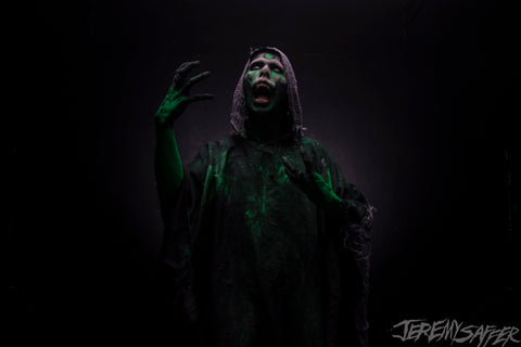 Wednesday 13 - Green Summon - limited edition metallic 8x12 print