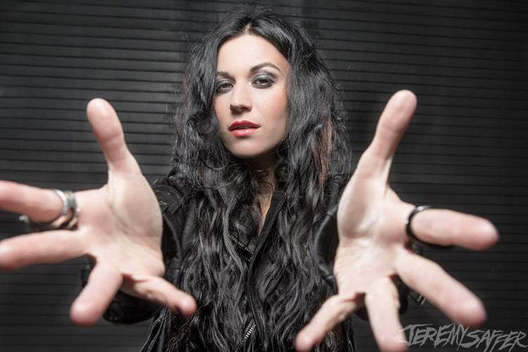 Cristina Scabbia - Reach - Signed Limited Edition Metallic 4x6 Print