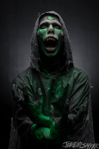 Wednesday 13 - Green Demon - limited edition metallic 8x12 print