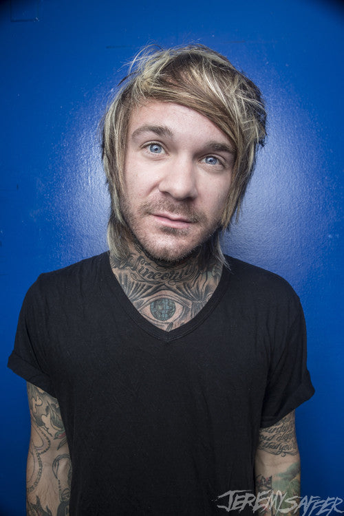 Craig Owens - Portrait - Metallic Mini-Print