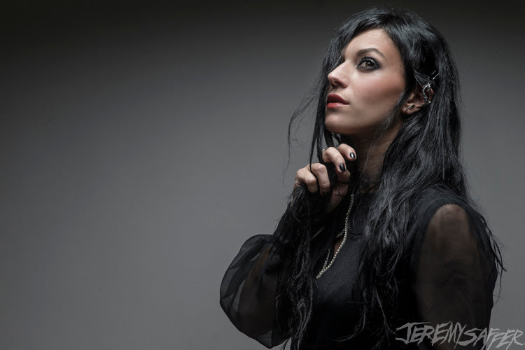 Cristina Scabbia - The Dragon - Signed Limited Edition Metallic Print (4 LEFT!)